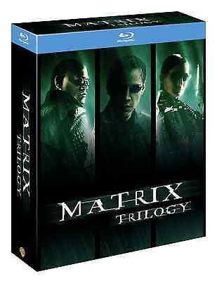 MATRIX - TRILOGY (3 BLU-RAY) MATRIX+MATRIX RELOADED+MATRIX REVOLUTIONS