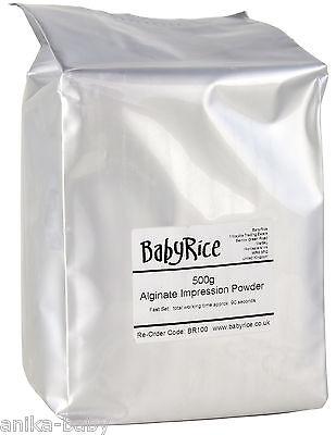 BabyRice Cromático Alginato Impreso Moldura Rápido Set Bebé Vaciado Cuerpo 500g