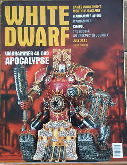 WHITE DWARF - Games Workshop's Monthly Magazine