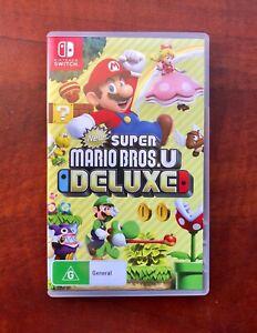 Nintendo Switch. Super Mario Bros.U Deluxe. AS NEW Condition $49