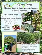 Pioneer Court Community garden  open day Highbury Tea Tree Gully Area Preview