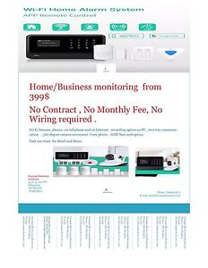 WiFi Home and Business monitoring and access control on sale