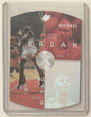1998 SPx Upper Deck #6 Michael Jordan Bulls Red Holo Die Cut Basketball Card