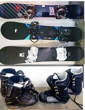 Mens and women's Snowboards, Boots South Yarra Stonnington Area Preview