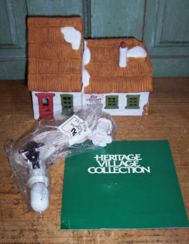 """Heritage Collection Dickens Village Series """"The Cottage of Bob Cratchit/Tiny Tim"""