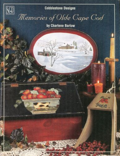 Memories of Olde Cape Cod Decorative Tole Painting Book by Charlene Barlow