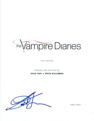 Kat Graham Signed Autographed THE VAMPIRE DIARIES Pilot Script COA
