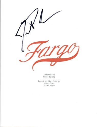 Jesse Plemons Signed Autographed FARGO Pilot Episode Script COA VD