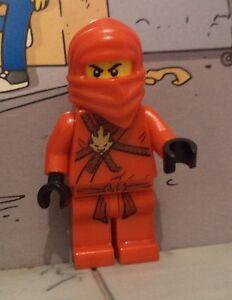 Ninjago Lego mini figure RED NINJA / KAI 2111 2505 2508 2258 30083