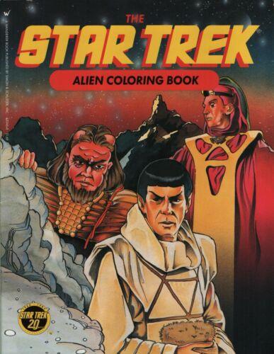 The Star Trek Alien Coloring Book
