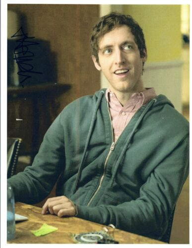 Thomas Middleditch Signed Autographed Silicon Valley Comedian 8x10 Photo COA VD