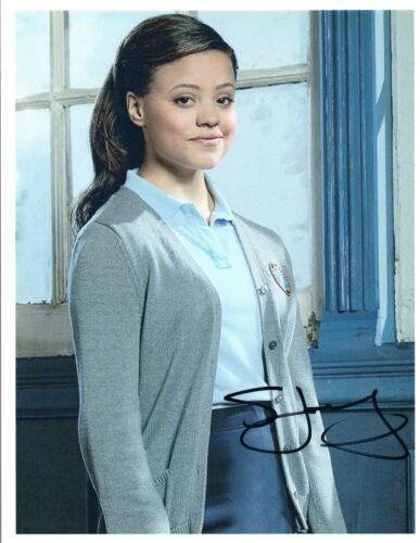 Sarah Jeffery Signed Autographed 8x10 Photo Wayward Pines Descendants COA VD