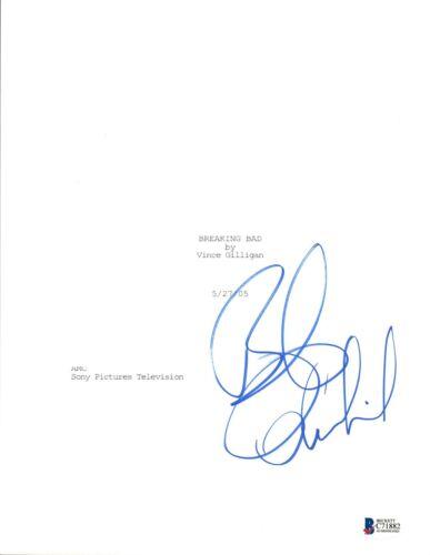 Bob Odenkirk Signed Autographed BREAKING BAD Pilot Episode Script BAS COA