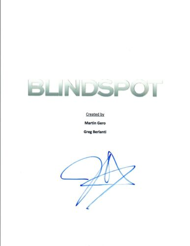 Jaimie Alexander Signed Autographed BLINDSPOT Pilot Episode Script COA VD