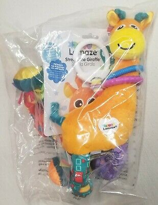 "(NEW) LAMAZE TOY ""Stretch the Giraffe"" Developmental Toy"