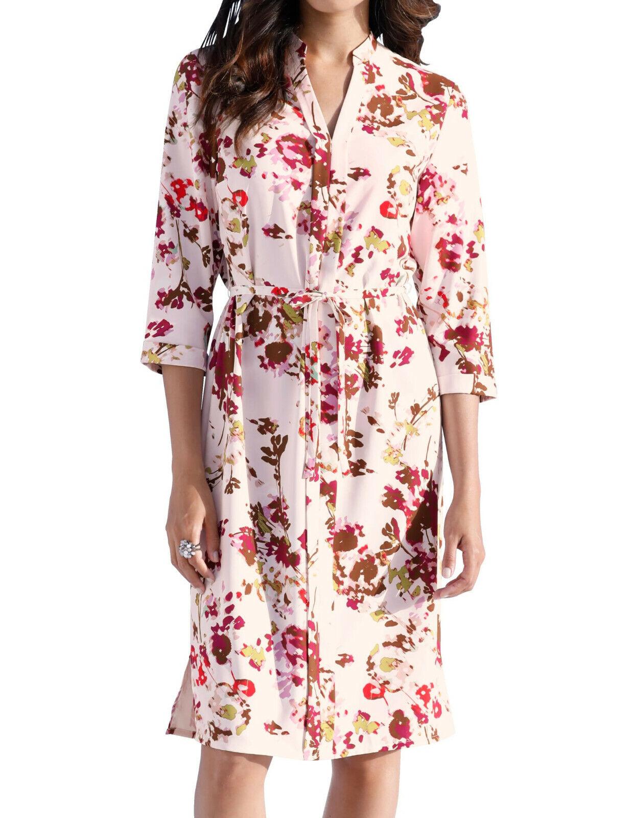 AMY VERMONT Blusenkleid mit Blumen-Druck. NEU!!!