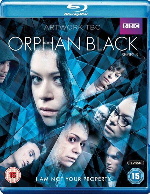 Orphan Black Complete Series 3 Blu Ray All Episodes Third Season Original UK Rel