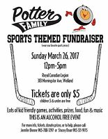 Fundraiser for Potter Family