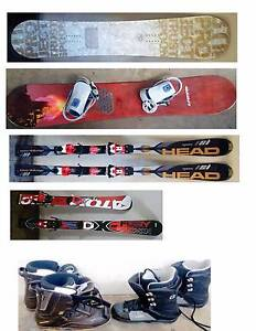 Skis, Snowboards with bindings , Boots and new Bindings South Yarra Stonnington Area Preview