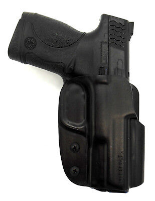 TAGUA by BLADE-TECH OWB ASR Loop KYDEX Belt Holster - S&W M&P 9 40 45 3.5
