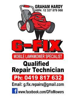 G-Fix Mobile Lawnmower Specialist