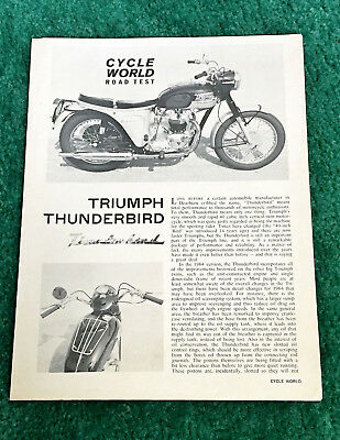 TRIUMPH 6T 650 THUNDERBIRD MOTORCYCLE METAL SIGN CLASSIC BIKES A3