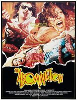 Film Riproduzione Abomination Poster Stampa A3 Questo È Un Poster -  - ebay.it