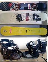 Mens and women's Snowboards, Boots and Goggles South Yarra Stonnington Area Preview