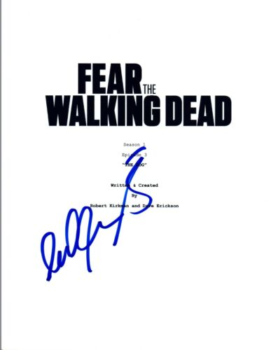 Cliff Curtis Signed Autograph FEAR THE WALKING DEAD Pilot Episode Script COA VD