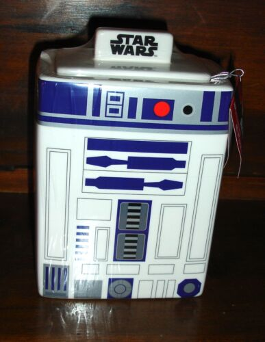 Star Wars R2D2 Galerie Ceramic Canister Cookie Candy Jar FREE SHIPPING