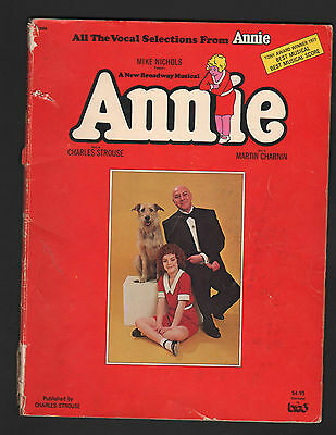 Annie Vocal Selections Sheet Music
