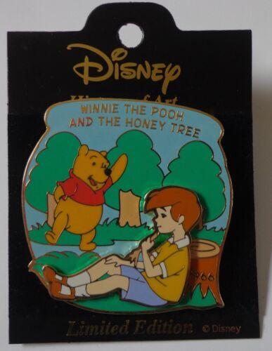 Disney Japan History of Art Winnie the Pooh and the Honey Tree 1966 LE Pin