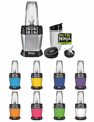 Nutri Ninja Auto-iQ BL480 Series Digital Blender Mixer with Pulse & Nutri 2