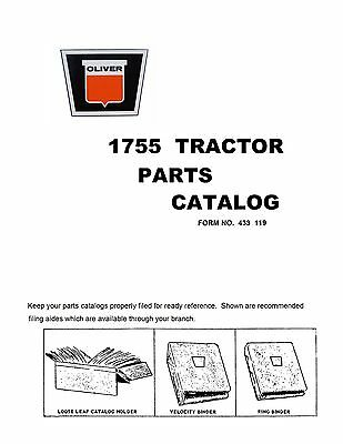 1755 Oliver Parts Catalog Reproduction