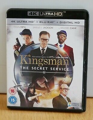 Kingsman: The Secret Service 4K Ultra HD + Blu-Ray (2015) in Excellent Condition