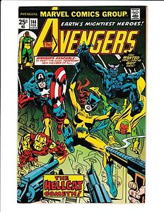 Avengers 144 first hellcat appearance
