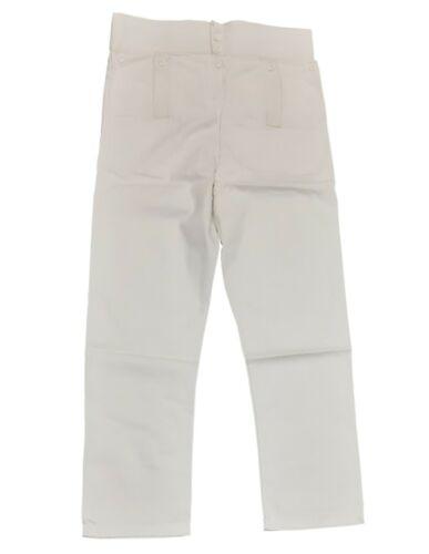 Rev War Full Trousers Reproduction Trews Reenactment Breeches White CottonCanvas