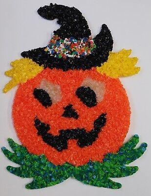 MELTED PLASTIC POPCORN HALLOWEEN PUMPKIN - Popcorn Halloween