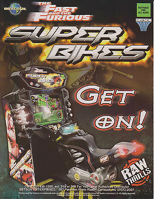 2006 RAW THRILLS THE FAST AND THE FURIOUS SUPER BIKES VIDEO