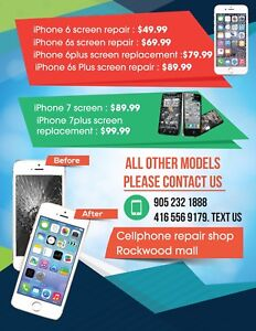 Iphone 6 screen repair $49.99