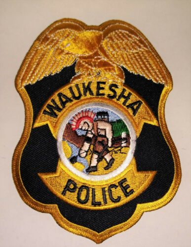 Waukesha Wisconsin Police Patch // FREE US SHIPPING!