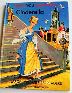 1980 Book  Now You Can Read Large Print Cinderella Hardcover: Greenwood Joondalup Area Preview