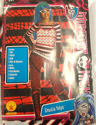 Monster High Ghoulia Yelps Zombie Costume Child S M L NIP (Monster High Ghoulia Kostüme)