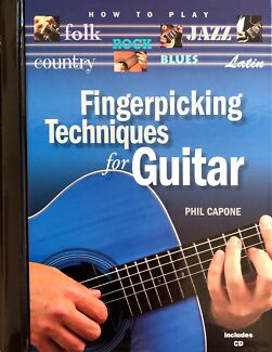 Wanted: Fingerpicking Techniques for Guitar by Phil Capone