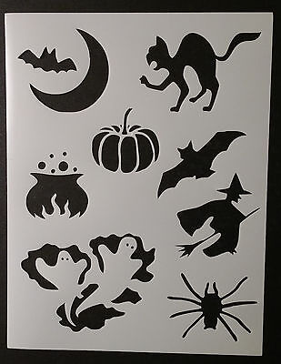 Halloween Bat Cat Pumpkin Witch + 8.5