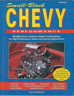 Chevy V8 Engine Parts Interchange Book 262 267 283 305 307 327 350 400 Chevrolet