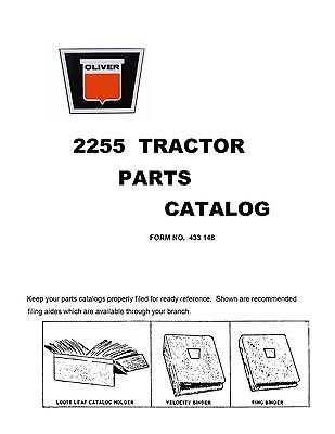2255 Oliver Parts Catalog Reproduction