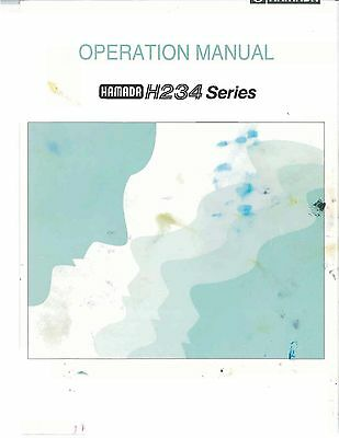 Hamada H234 series Operaring Manual (pdf file)(053)
