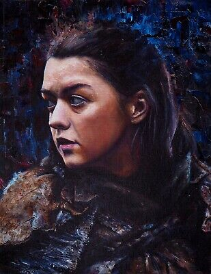 Poster A3 Juego de Tronos Arya Stark / Throne Game Of Thrones Serie Cartel 02 ()