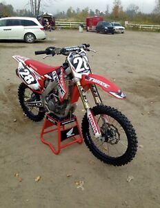 Motocross CRF 250 SEULEMENT 45HEURES